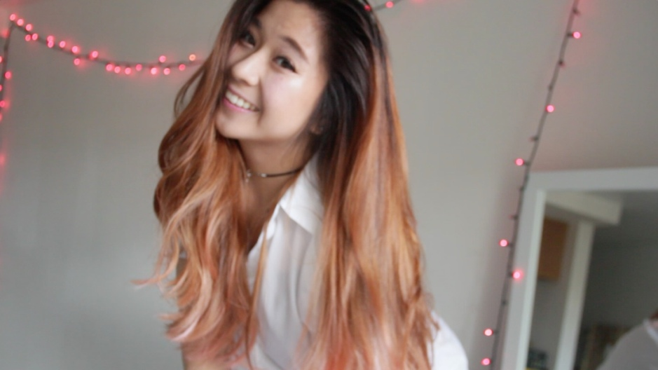 How To Balayage To Rose Gold Hair The Street Kat